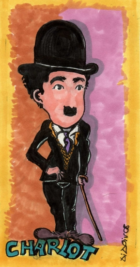 Charlie Chaplin by didgiv